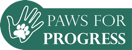 Paws for Progress Rescue Dog Charity Logo